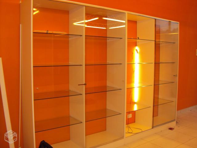 Estante De Vidro Temperado : Estante com portas em vidro temperado [ ofertas ] vazlon brasil