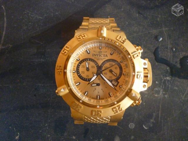 46ba07f1bef troco relogio invicta por swatch serie ouro   OFERTAS
