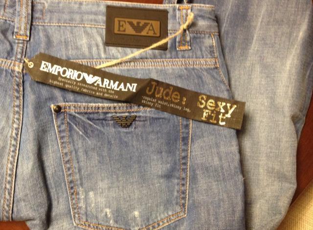c5ec6f108 Calça jeans Emporio Armani masculina - nova - - R$