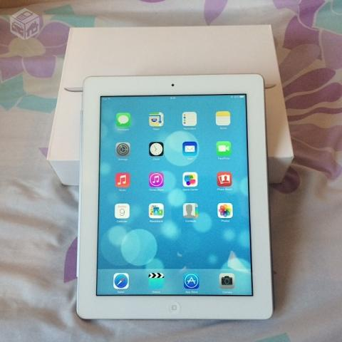 Ipad 4 Retina A Wi-fi gb Caixa + Smart Cover - R$