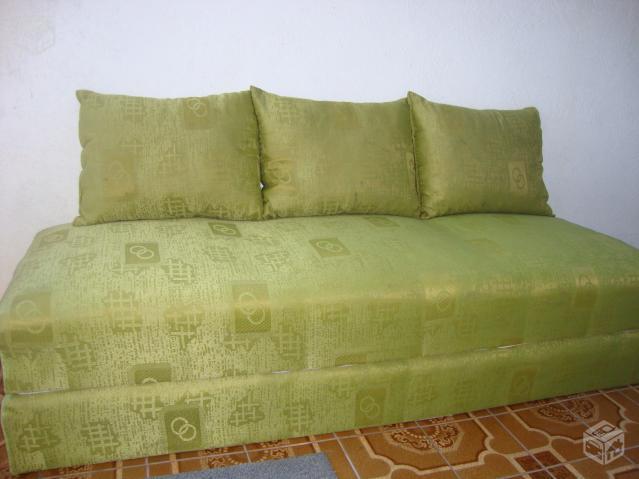 Sofa cama de solteiro ofertas vazlon brasil - Sofa cama verde ...