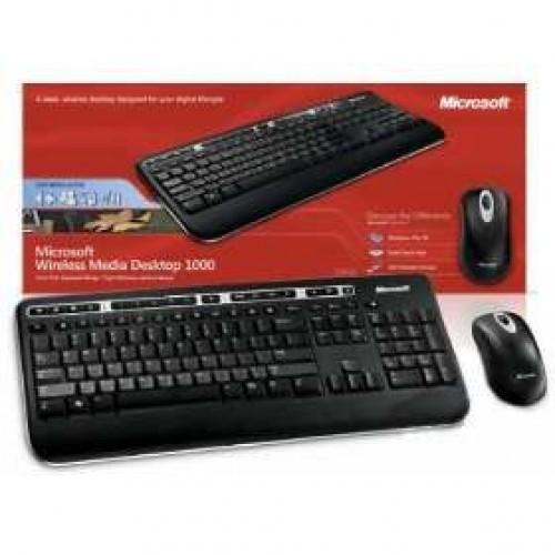 Kit Teclado e mouse Wireless Desktop 3000 - Microsoft vs ...