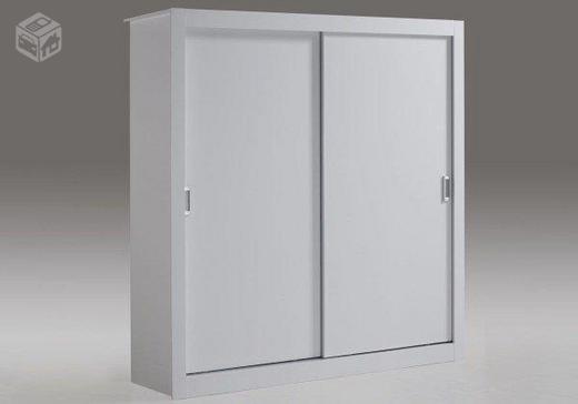 Adesivo De Natal ~ armario de 3 portas branco Vazlon Brasil
