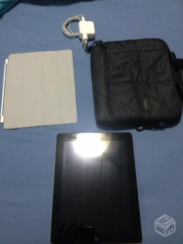 Ipad gb wi-fi e 3g + bolsa + smart cover - R$