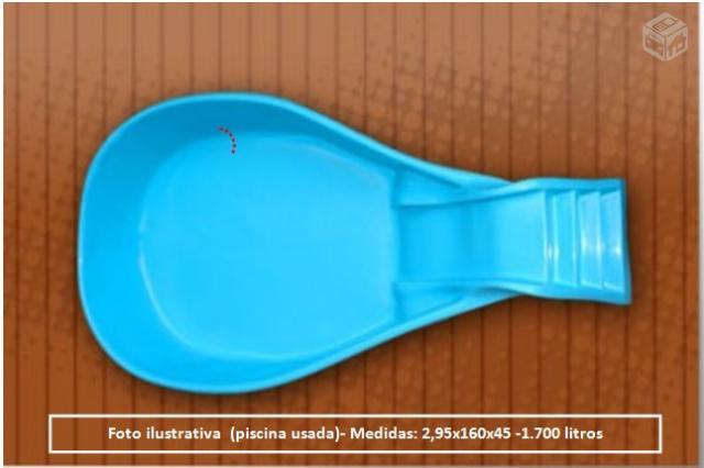 Piscina usada fibra em rio preto ofertas vazlon brasil - Piscinas de fibra usadas ...