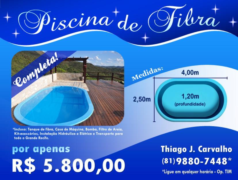 Piscina de fibra oval usada 4xxm instalada vazlon brasil for Piscinas de fibra instaladas