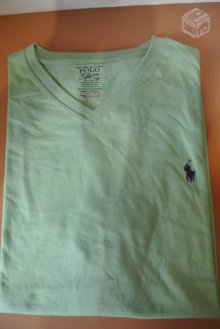 744bf1a724 Polo Ralph Lauren Camisa Gola V - Original - Nova - R