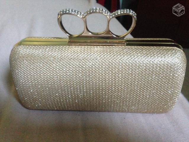 Bolsa Dourada Para Festa : Bolsa dourada de festa r ofertas vazlon brasil