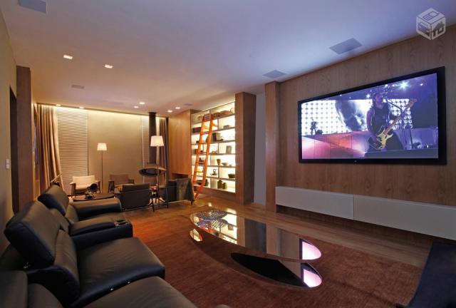 Sala De Tv Com Projetor ~ instalação de tvs e home fazemos seu projeto de iluminação para