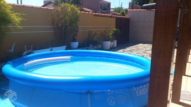 Piscina de litros de plastico redonda c filtro ofertas for Piscina 8000 litros redonda