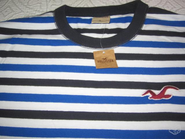 Camiseta Hollister - R$