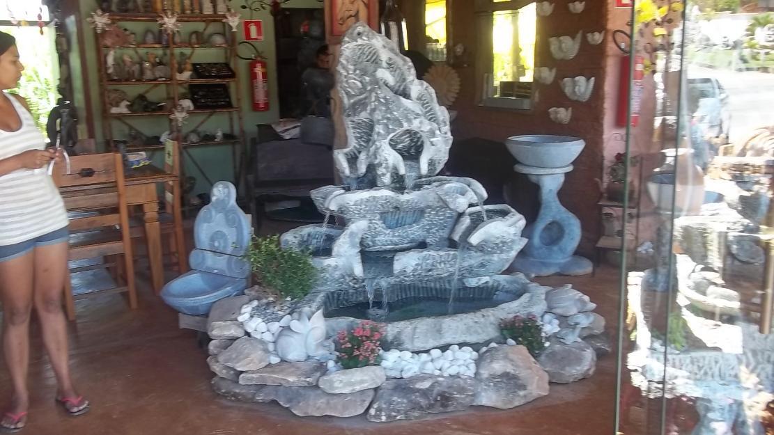 fontes de agua para decoracao de interiores : fontes de agua para decoracao de interiores: fontes e grutas esculpidas em pedra sabão a partir de cm de haltura