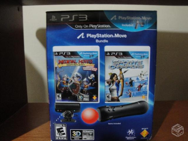 Kit move (kinect do ps3) +jogo orginal - R$