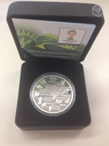 moeda de prata cidades sede copa do mundo brasil   OFERTAS ... 5aaad469ac0c0