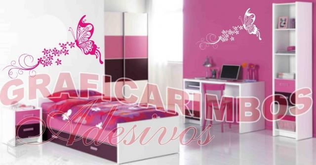 Sala De Estar Violetta ~ adesivos decorativos interiores sala quarto cozinha paredes  Vazlon