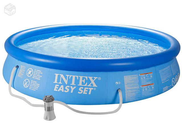 Piscina redonda mor litros bomba filtro intex ofertas for Filtro piscina intex