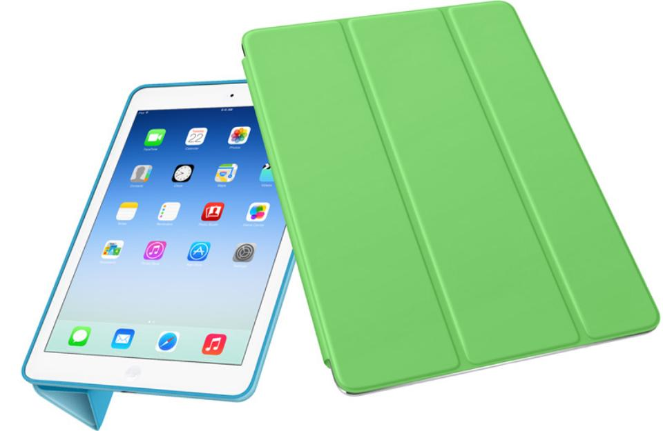 Quero:Smart Cover para iPad Air e Flip Cover para Samsung