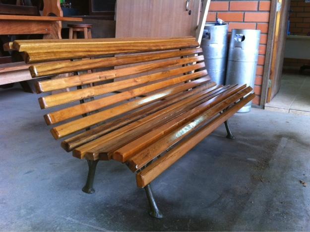 banco jardim aluminio:banco de jardim banco de jardim com pés em alumínio com m produto