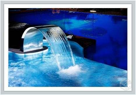 Cascata para piscina wave grande batatais objetos de for Piscina wave