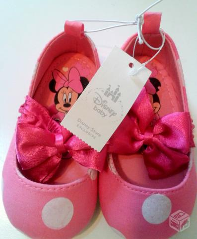 Sapatilha Minnie Importada Disney - R$