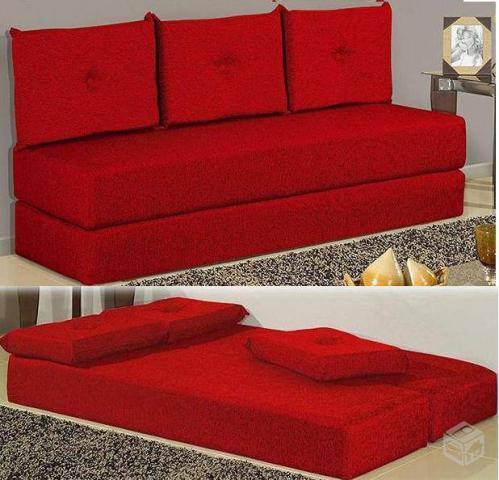 Urgentevende se 2 sofas cama de tecido vazlon brasil for Fabrica de sofa cama