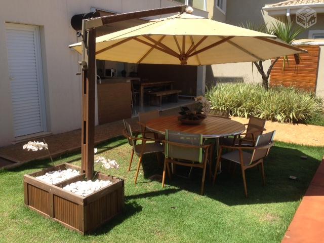 mesa jardim ombrelone:ombrelone milenium área externa r 1 ombrelone mileniun mts madeira e