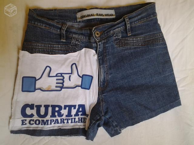 Shortinho customizados  - R$