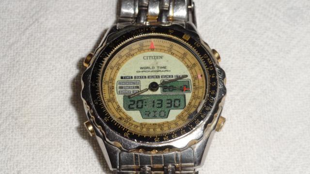 2d5a37ec566 Baixei Relógio Citizen C Natulite Raridade - R