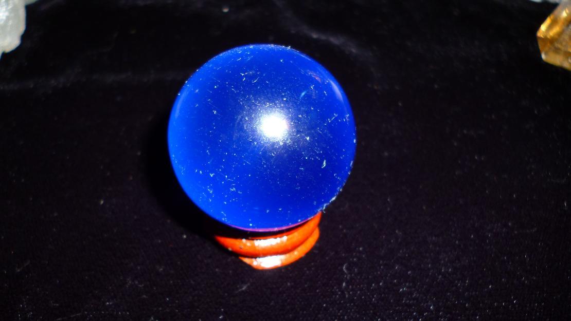 Linda boleira de cristal com 3 bolas decorativas vazlon for Bolas de cristal decorativas