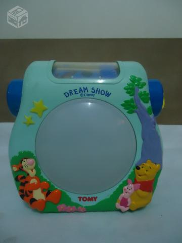 Projector musical do Pooh importado - R$