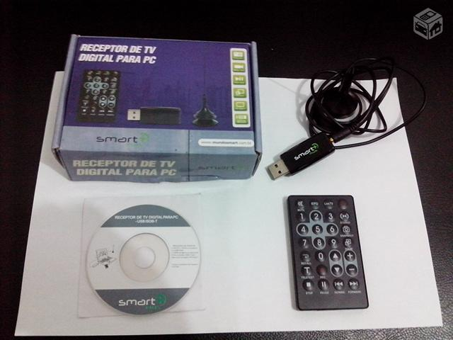 Receptor de TV Digital p/PC/Notebook - R$