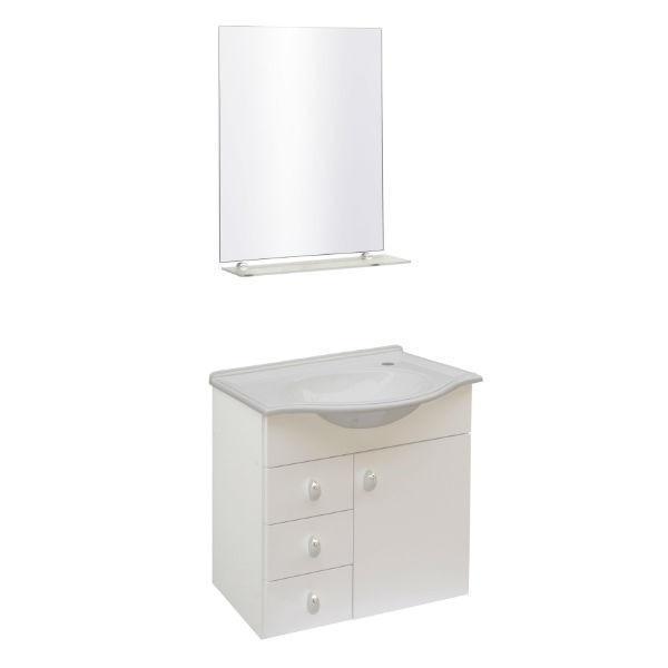 conjunto de pia para banheiro  Vazlon Brasil -> Pia De Banheiro Com Armarinho