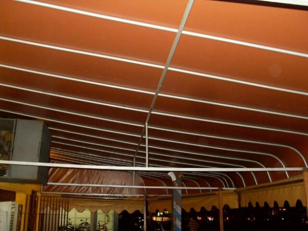 Toldo 8 metros por 4 metoslona marrom vazlon brasil for Lona de toldo por metros