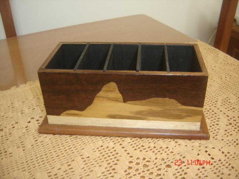 Artesanato Goiania Go ~ porta controle remoto mdf artesanato girassol madeira Vazlon Brasil