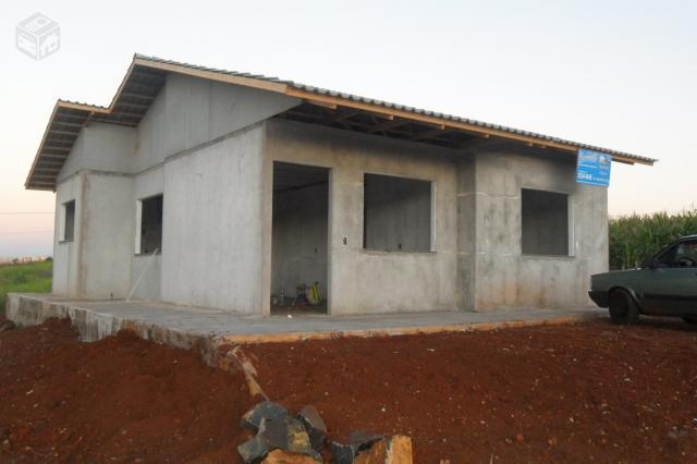 Casa pre moldada alvenaria ou madeira r ofertas vazlon brasil - Casas de cemento ...