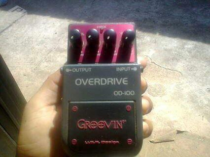 Pedal overdrive - R$
