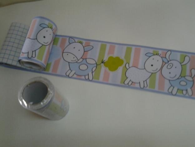 faixa para quarto de bebe papel de parede infantil faixa  Vazlon Brasil