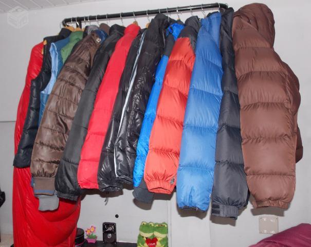 Coleção de Jaquetas importada com plumas de Ganso -