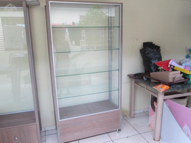 estante vitrine para loja com prateleiras e gaveta r estante vitrine ...