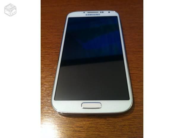 Celular Desbloqueado Samsung Galaxy S4 Gt I9500 Branco Com: Samsung S4 Branco 4g Com Nota E Caixa Acc Trocas