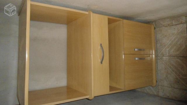 Aparador Ingles Antiguo ~ microondas e armario para microondas e forno eletrico