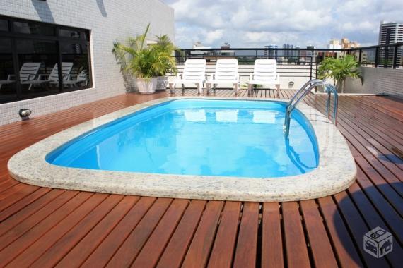 Pergolados e deck de piscina ofertas vazlon brasil for Oferta de piscina