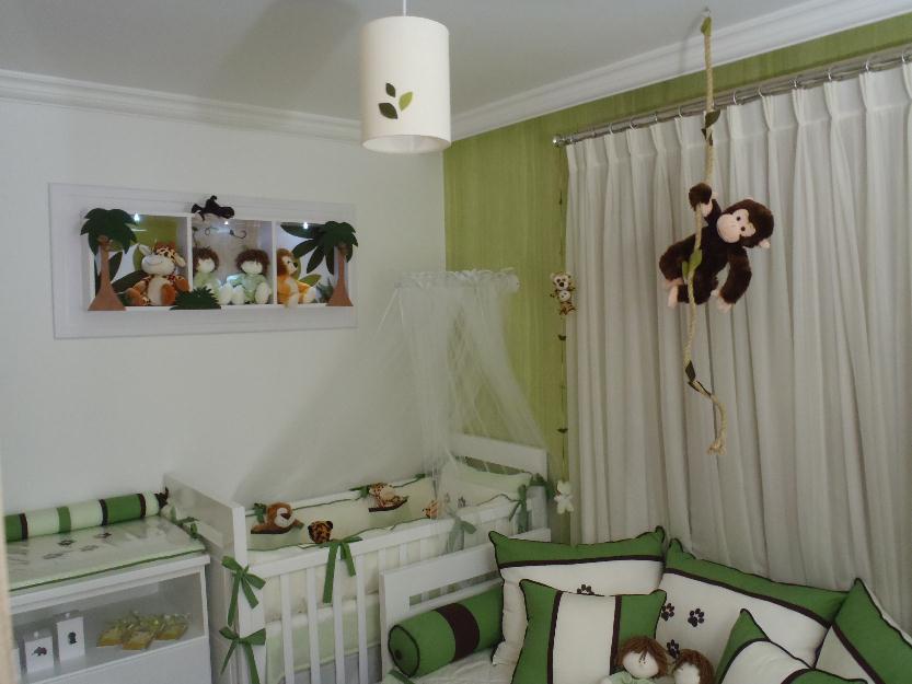 Quarto De Bebe Decorado Com Safari ~ An?ncios decoracao de quarto de bebe em mdf safari