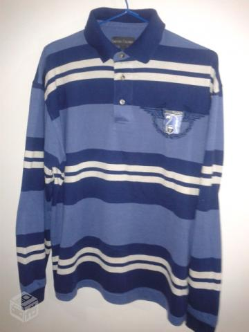camisaria colombo camisa polo azul tamanho m r   OFERTAS    72ab7991c8c65