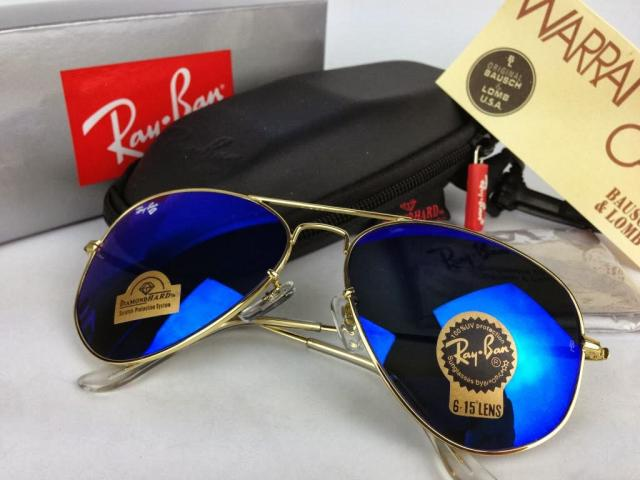 e281b190bd Sample Of Mercury Blue Sunglasses Of Ray Ban Fake
