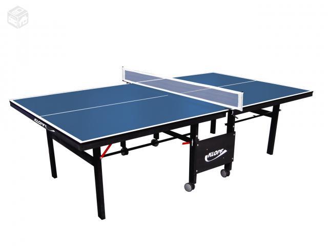 Mesa de ping pong retratil com rodinhas ofertas for Mesa de ping pong usada