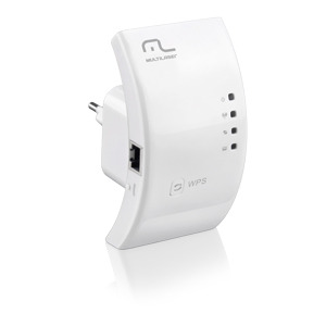 Roteador Repetidor Wireless Wi-fi Mbps Wps Re Multilaser
