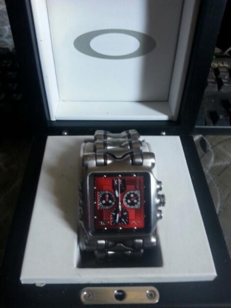 780d8366c97 Relogio Oakley Minute Machine Red « Heritage Malta