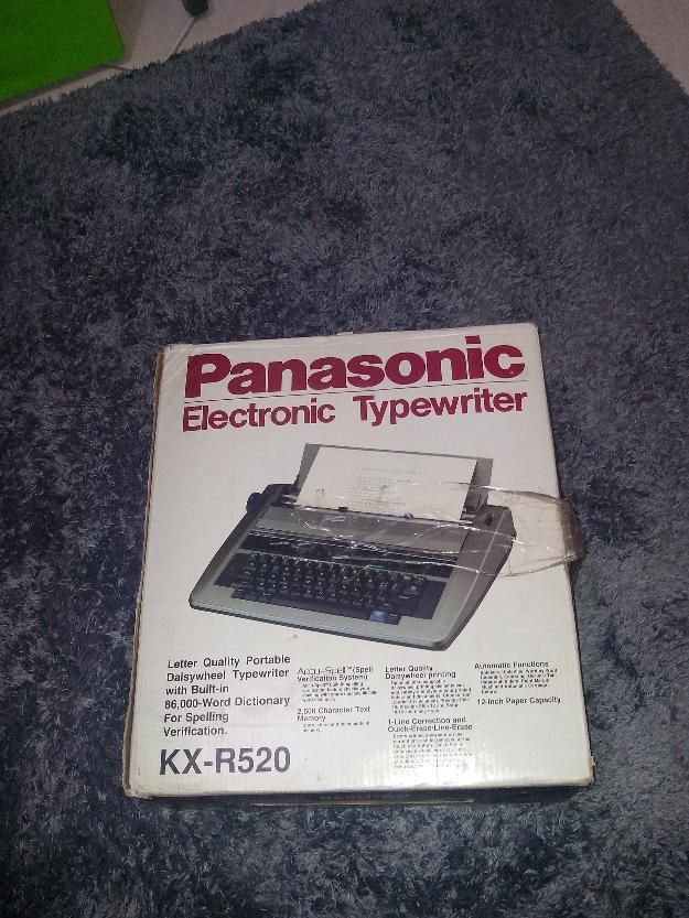 Manual De Panasonic Electronic Typewriter R340