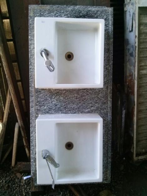 Linda Pia De Granito Para Banheiro Com Cuba Deca 20130710141332 Jpg Pictures  -> Cuba Pia Banheiro Deca